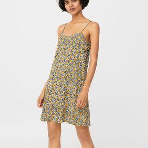 Strap Flowy Dress - 8 Mango